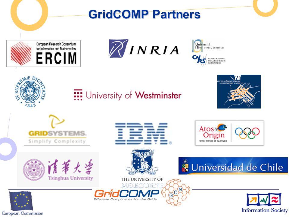 European Commission Directorate-General Information Society Unit F2 – Grid Technologies GCM: Grid Component Model GCM: Grid Component Model  GCM Bein