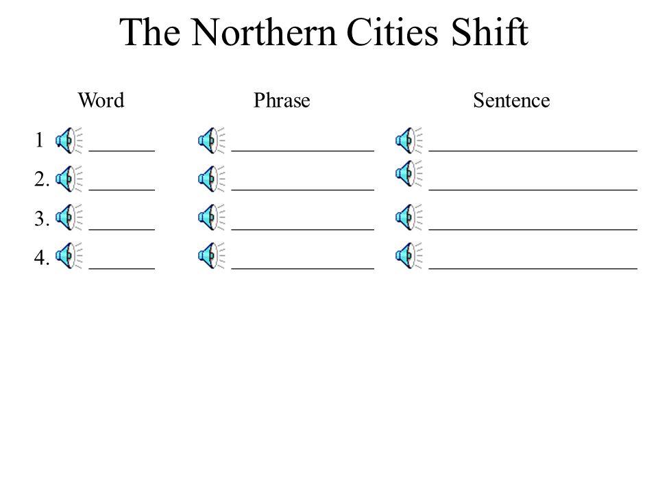 Word Phrase Sentence 1. ______________________________________ 2. ______________________________________ 3. ______________________________________ 4.