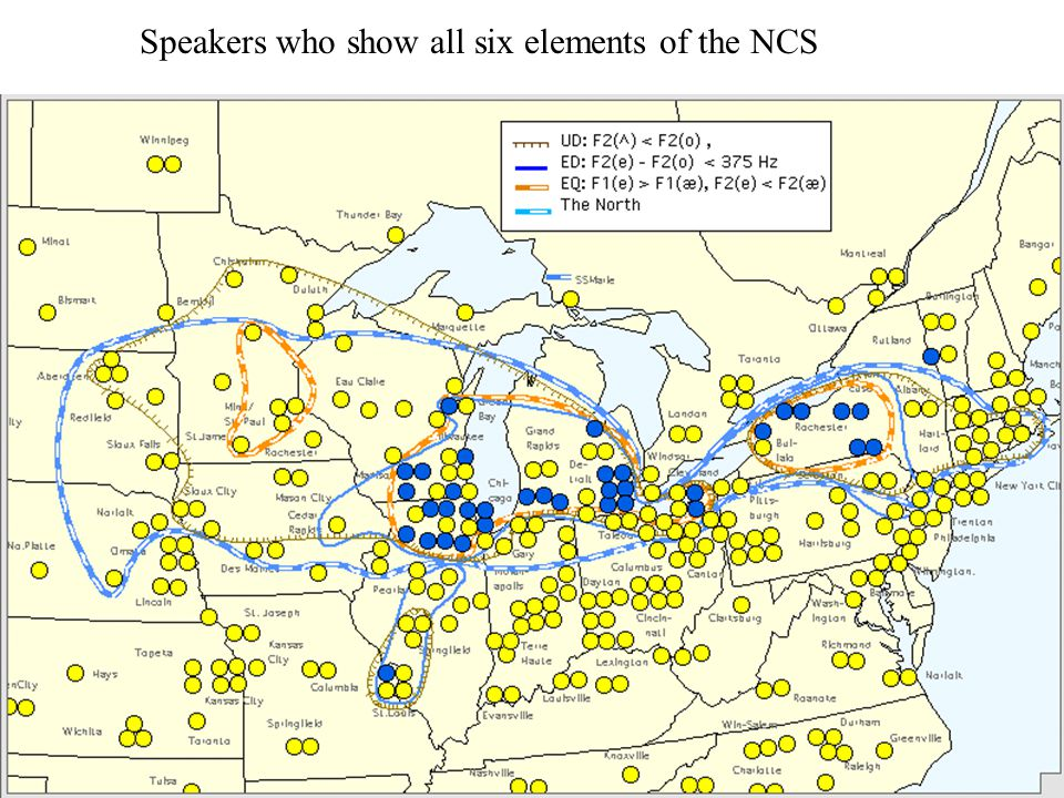 Speakers who show all six elements of the NCS