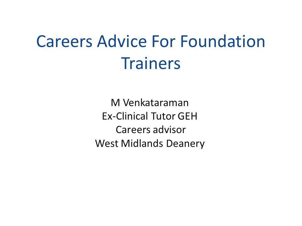Careers Advice: Why.