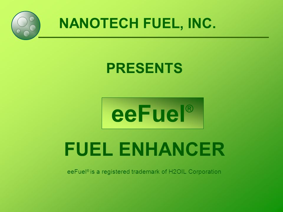 NANOTECH FUEL, INC.