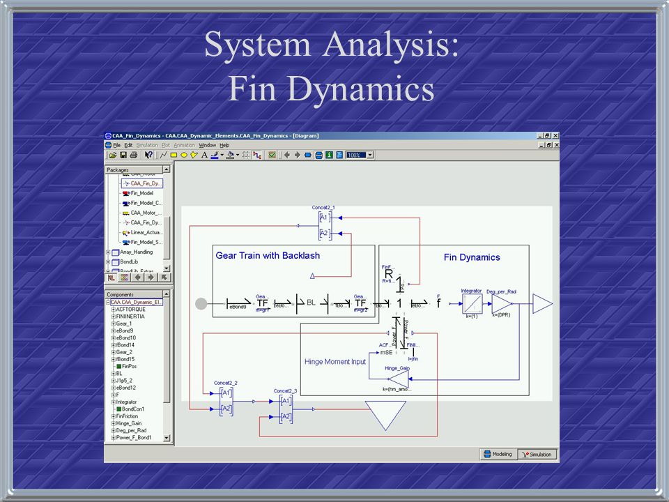 System Analysis: Fin Dynamics