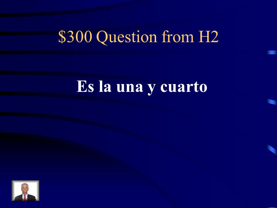 $200 Answer from H2 Que es noon
