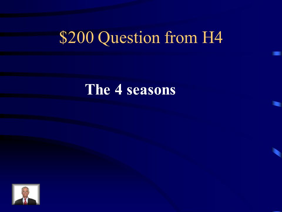 $100 Answer from H4 Que es hace calor