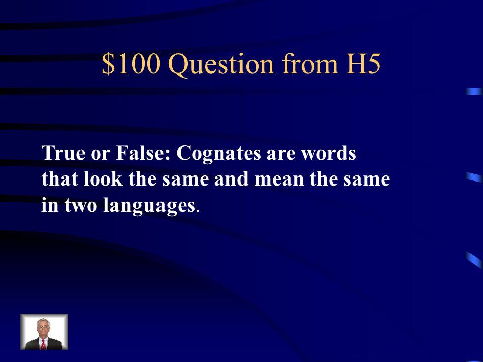 $500 Answer from H4 Hace (Hay) sol y viento