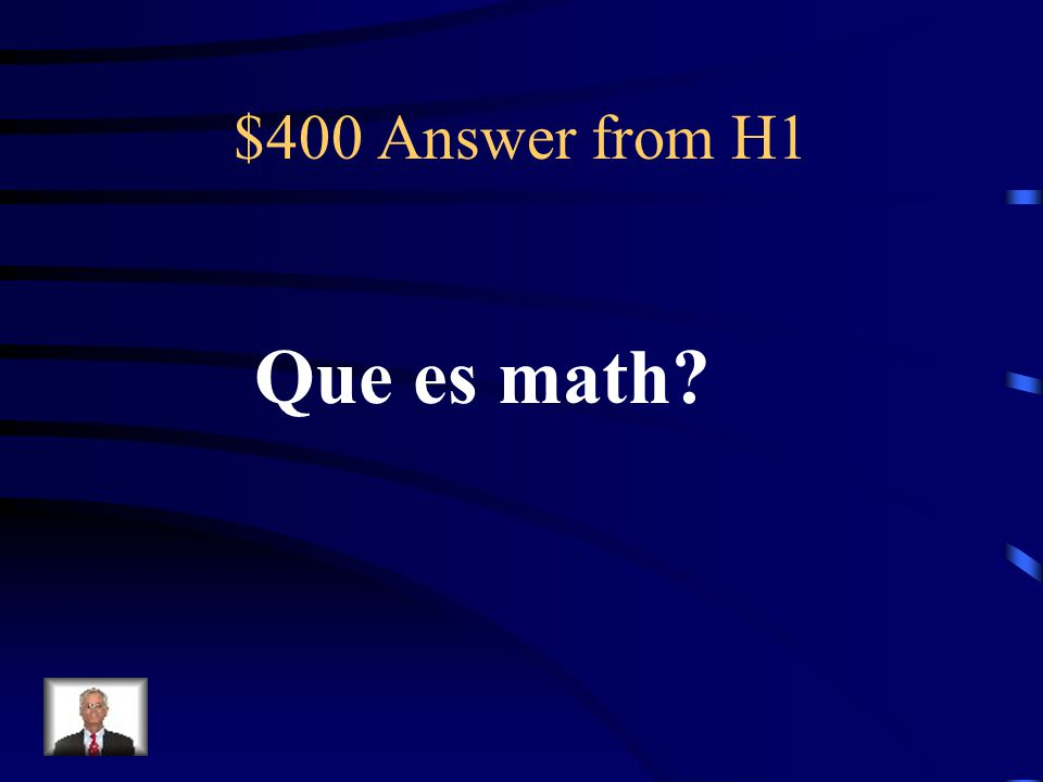 $400 Question from H1 matematicas