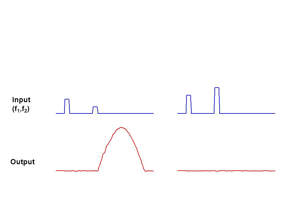 Input (f 1,f 2 ) Output
