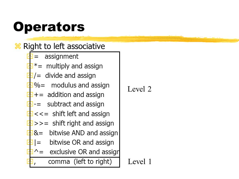 Outline zOperator overloading ymotivation yexamples yrestrictions yunary and binary overloaded operators zFriends zType conversion operators