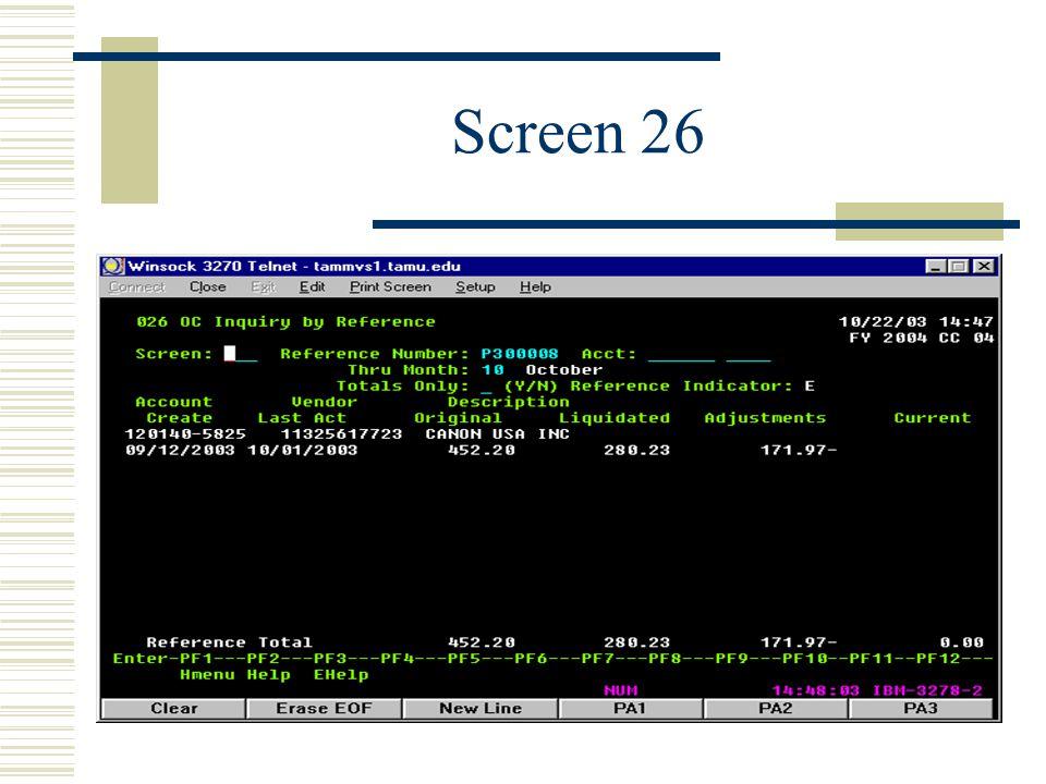 Screen 26