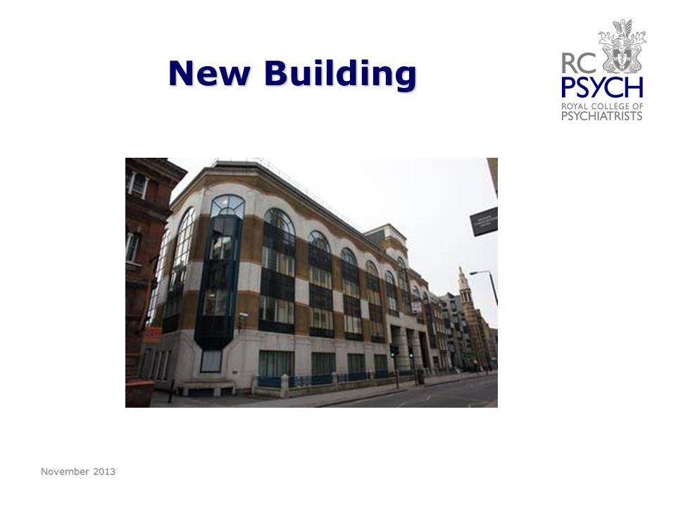 New Building November 2013