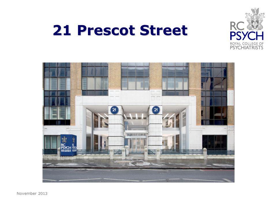 21 Prescot Street November 2013