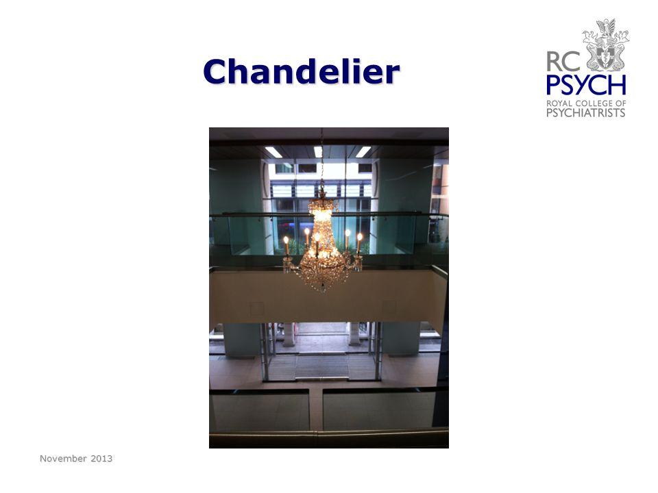 Chandelier Chandelier November 2013