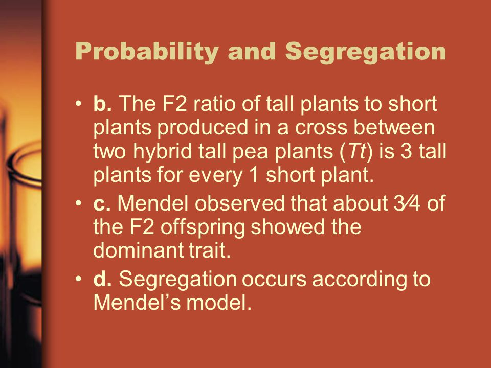 Probability and Segregation b.