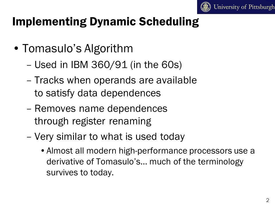 Tomasulo's Algorithm: The Picture 3