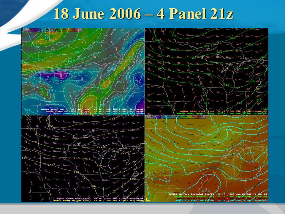 18 June 2006 – 4 Panel 21z
