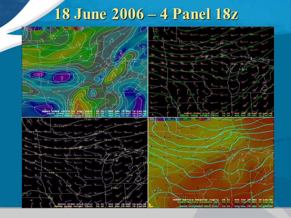 18 June 2006 – 4 Panel 18z