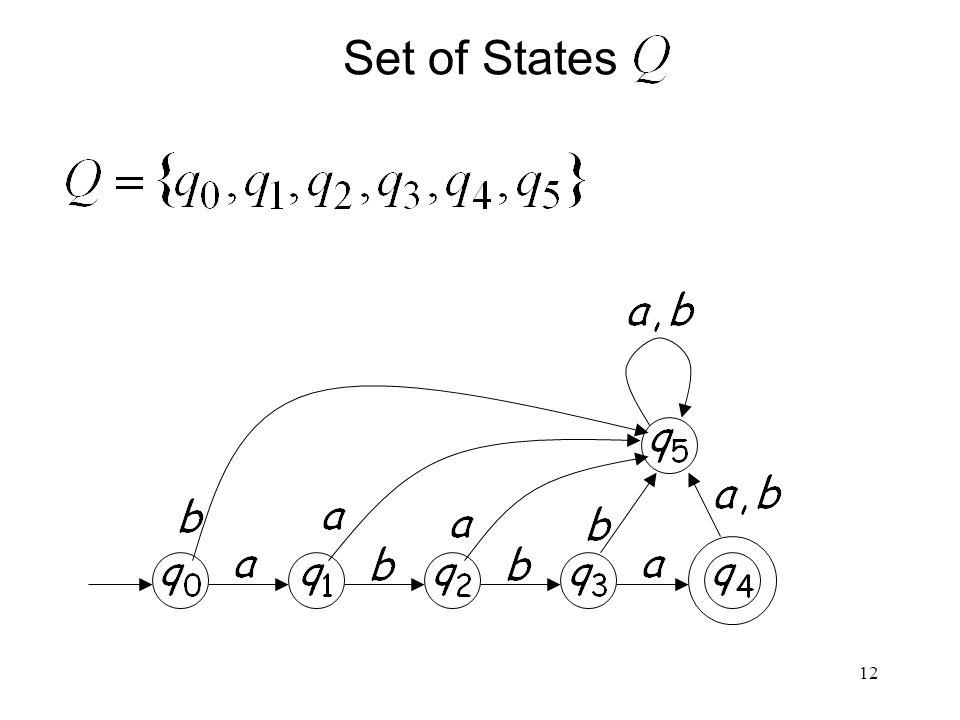 12 Set of States