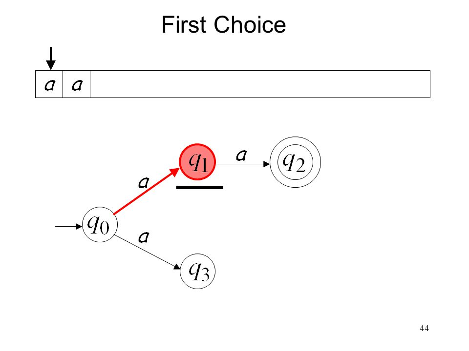 44 First Choice