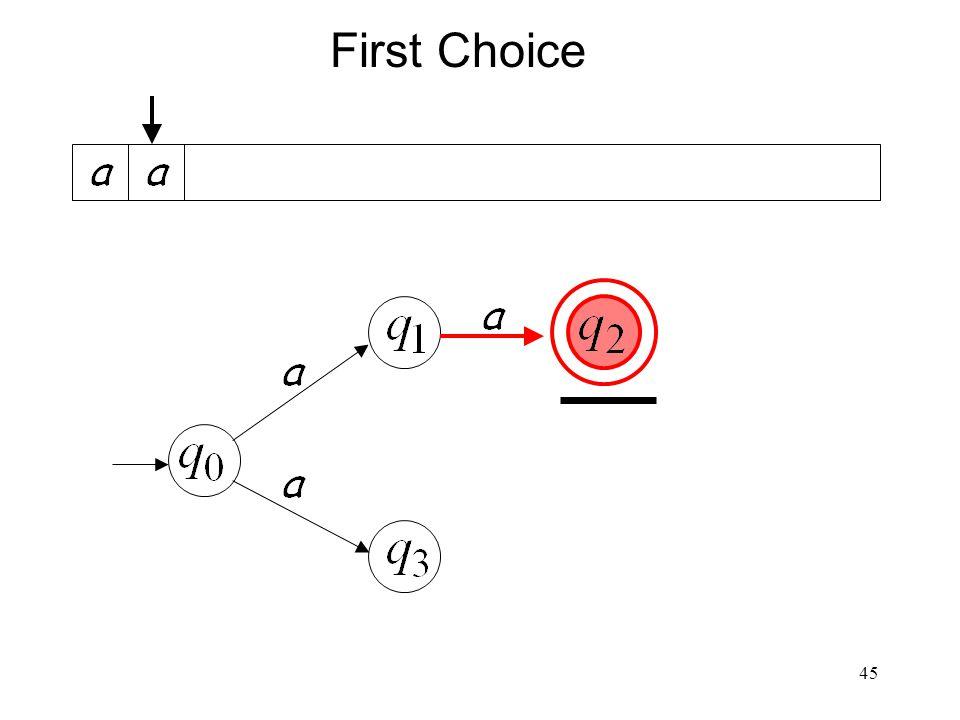45 First Choice