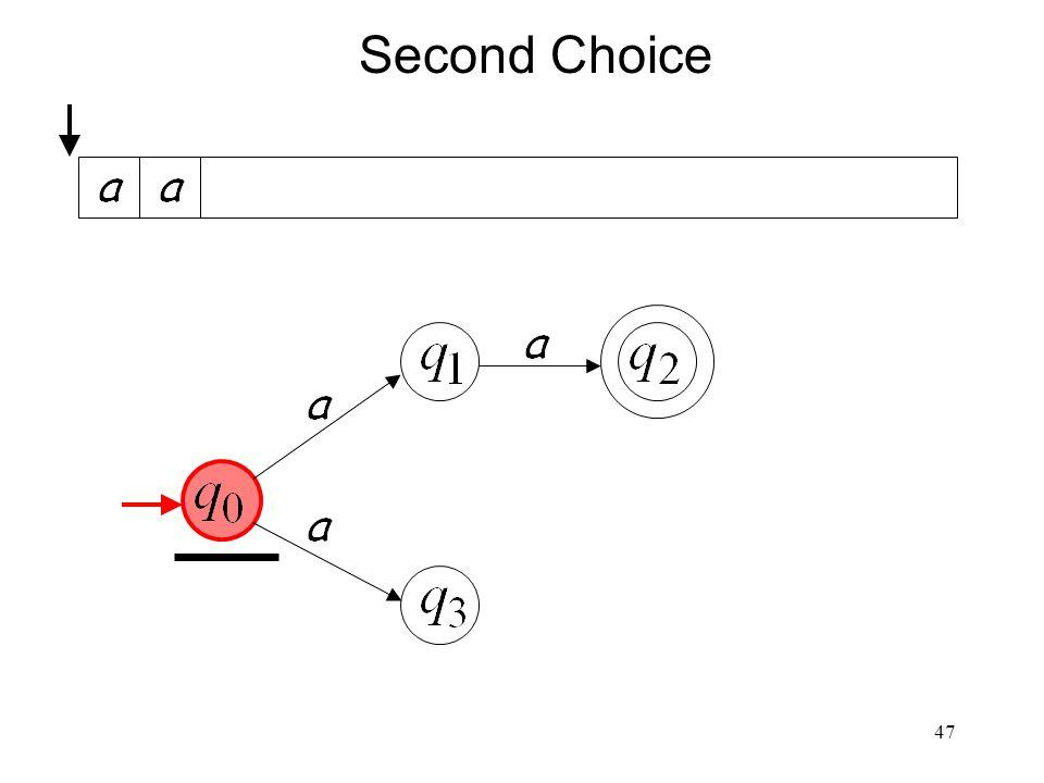 47 Second Choice