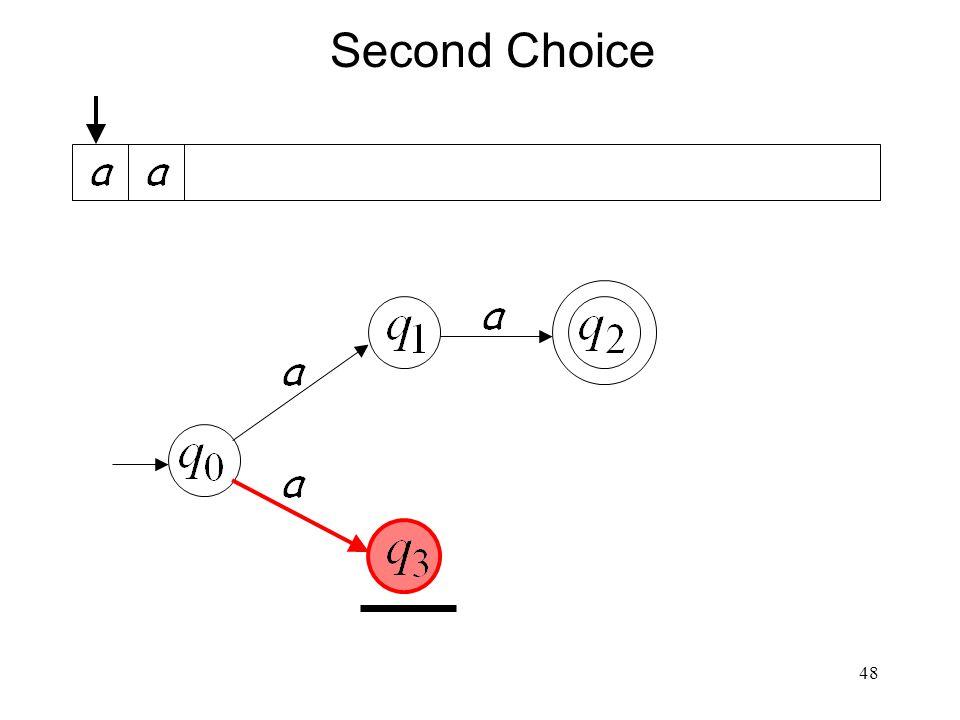 48 Second Choice