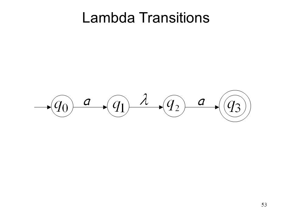 53 Lambda Transitions