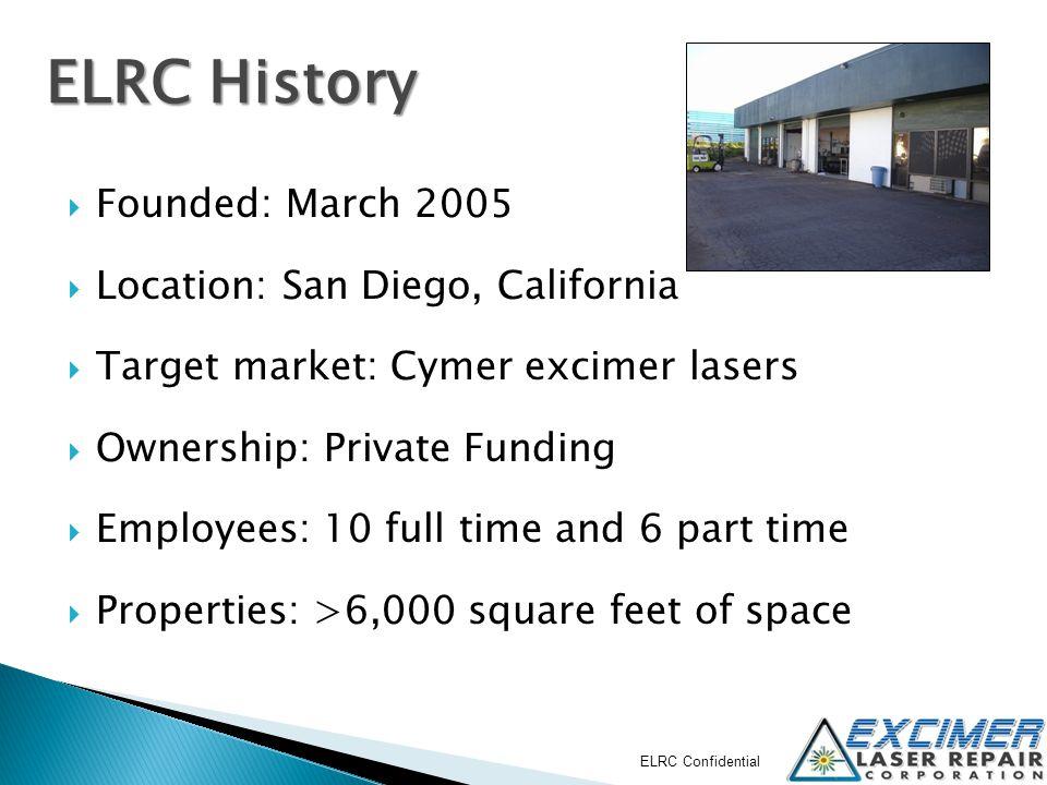 ELRC Confidential EmployeeRoleExperience Ken Rebitz CEO, Founder 32 yrs.