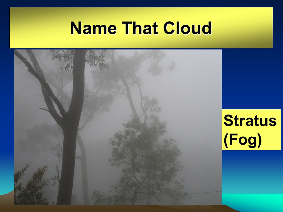 Name That Cloud