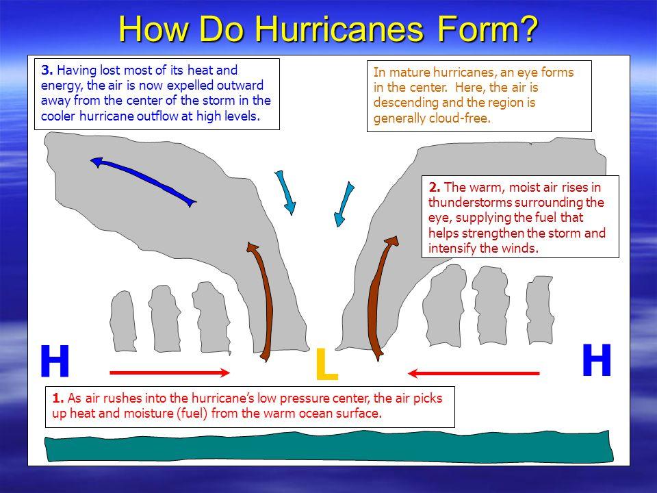 When do hurricanes form?