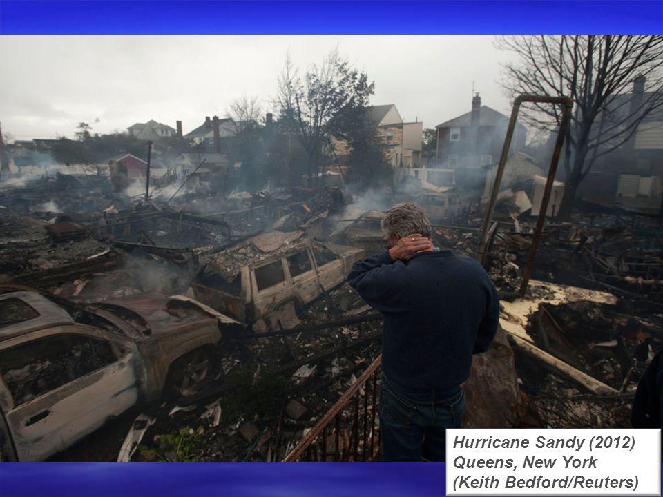 Hurricane Sandy (2012) Bellport, New York (Lucas Jackson/Reuters)