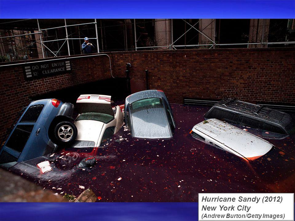 Hurricane Sandy (2012) Tuckerton, New Jersey (US Coast Guard/Getty Images)