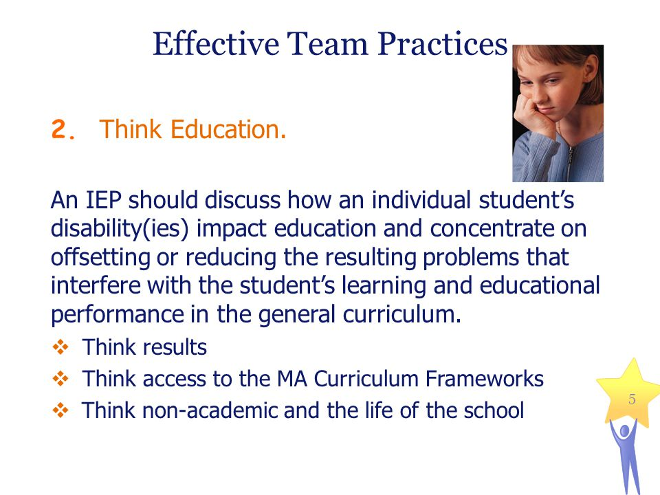 Effective Team Practices 2.Think Education.