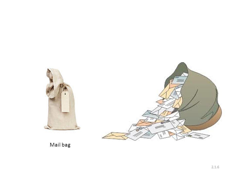 2.1.6 Mail bag