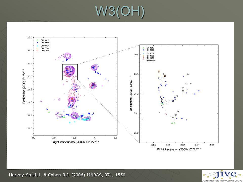 W3(OH) Harvey-Smith L. & Cohen R.J. (2006) MNRAS, 371, 1550