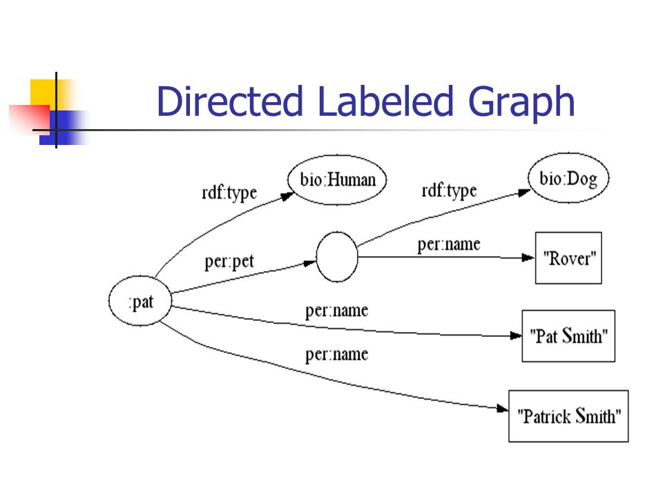 Directed Labeled Graph