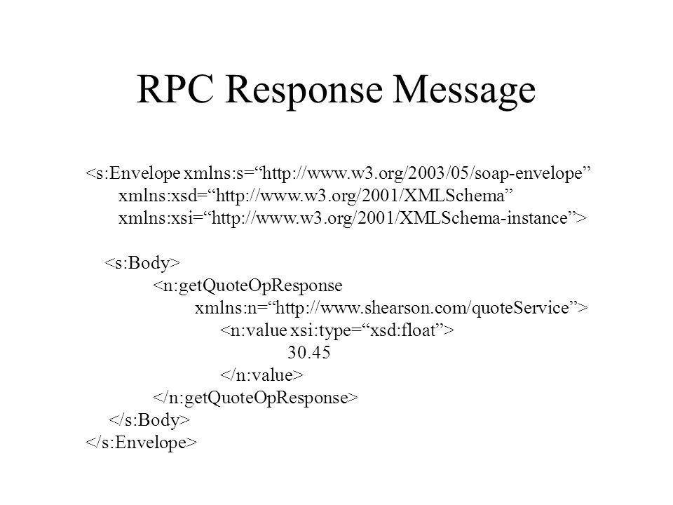 "RPC Response Message <s:Envelope xmlns:s=""http://www.w3.org/2003/05/soap-envelope"" xmlns:xsd=""http://www.w3.org/2001/XMLSchema"" xmlns:xsi=""http://www."
