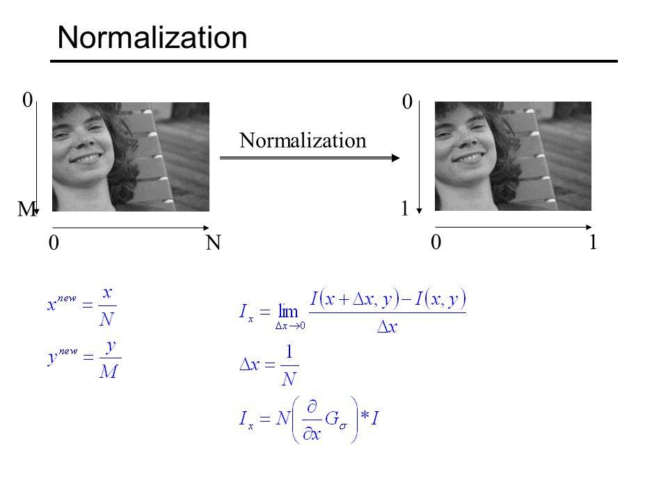 Normalization 0N 0 M 01 1 0