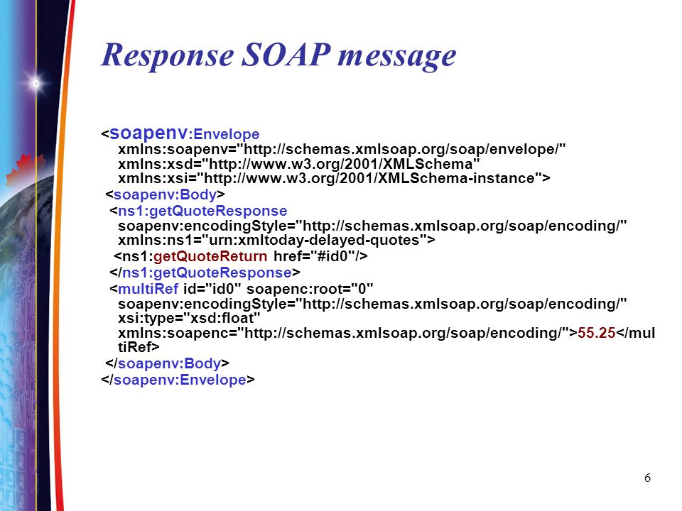 27 SOAP request message is within HTTP POST Yuhong Yan Here is the HTTP body – That is the SOAP message