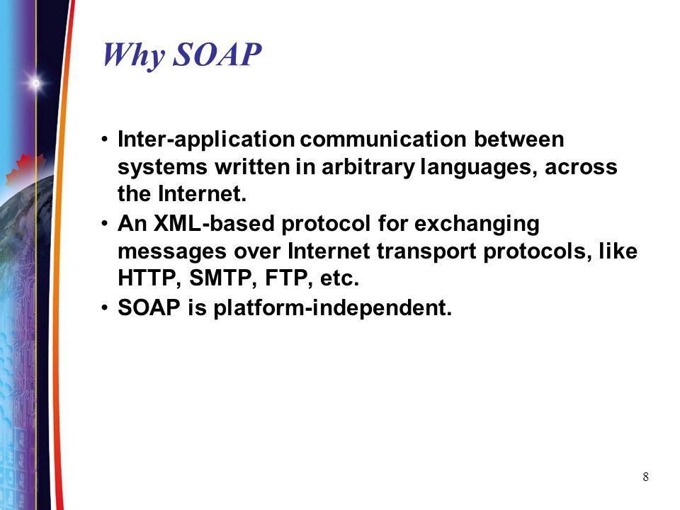 9 Apache SOAP architecture p69,.