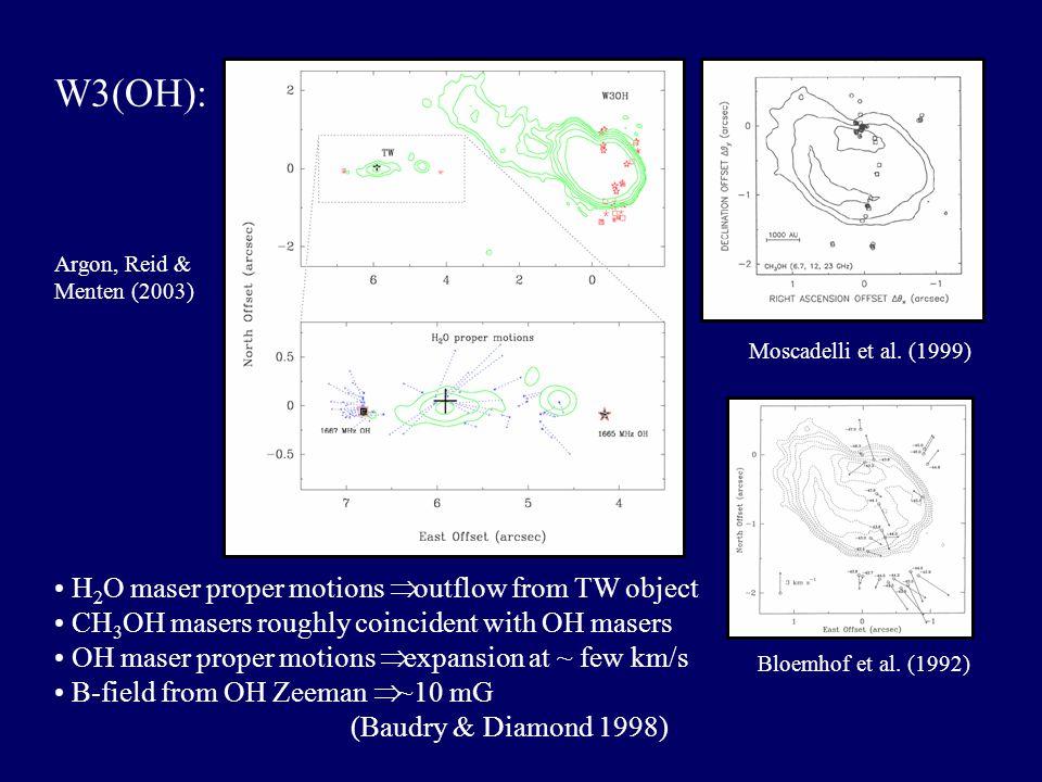Argon, Reid & Menten (2003) Moscadelli et al. (1999) Bloemhof et al.