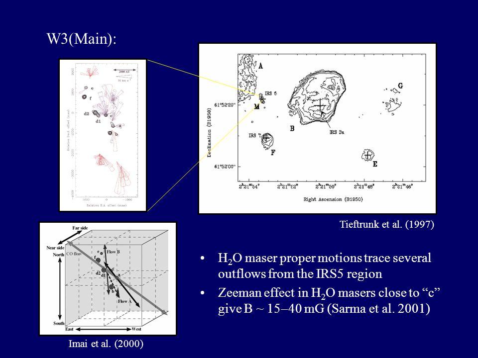 Cepheus A Most dense molecular core in the molecular cloud complex associated with Cep OB3 association, d~725pc, L bol ~2.5  10 4 L 