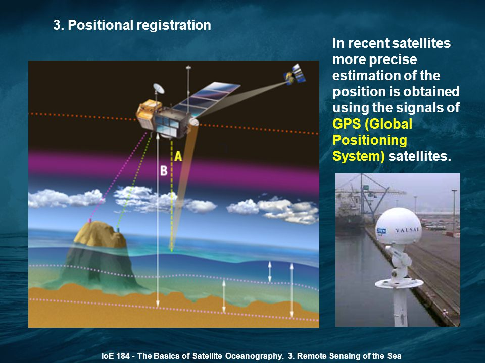 3.Positional registration IoE 184 - The Basics of Satellite Oceanography.