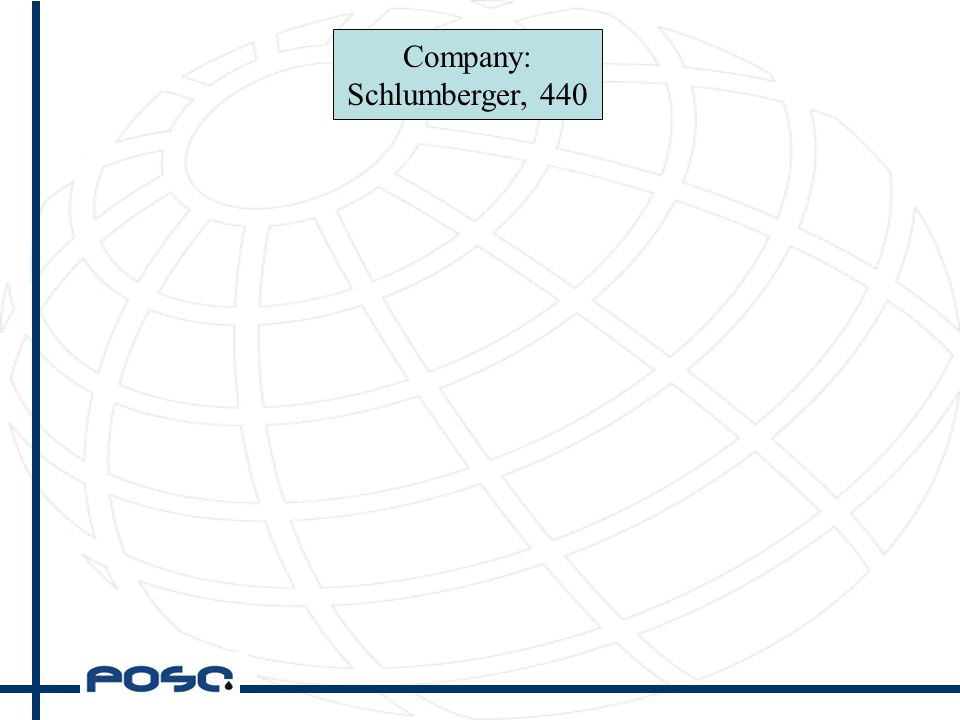 Company: Schlumberger, 440