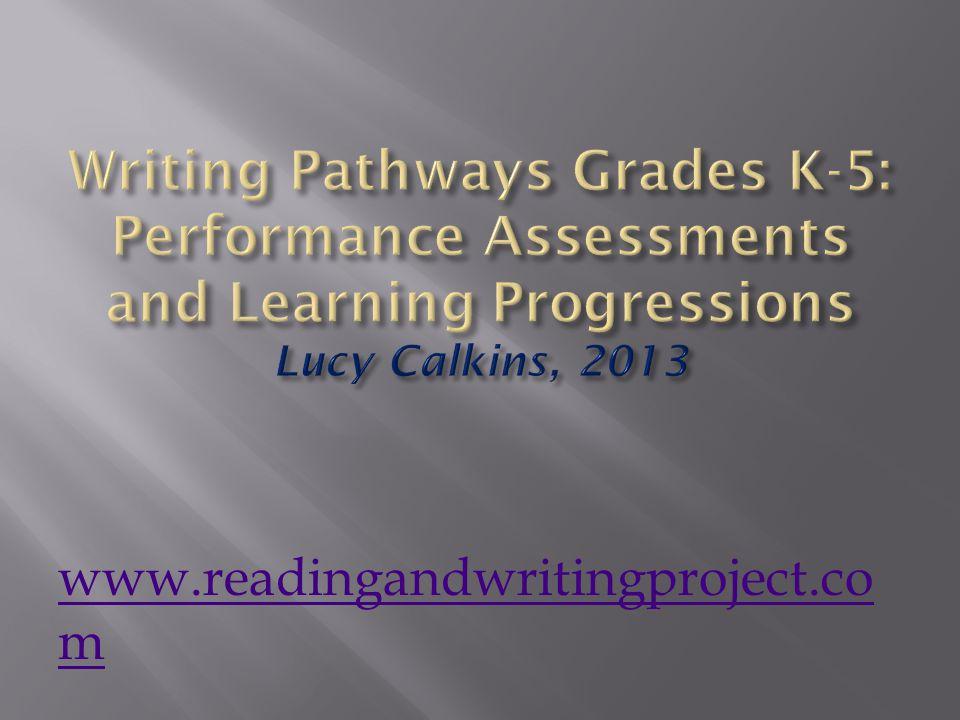 www.readingandwritingproject.co m
