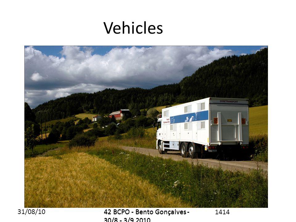 31/08/1042 BCPO - Bento Gonçalves - 30/8 - 3/9 2010 1414 Vehicles 42 BCPO - Bento Gonçalves - 30/8 - 3/9 2010