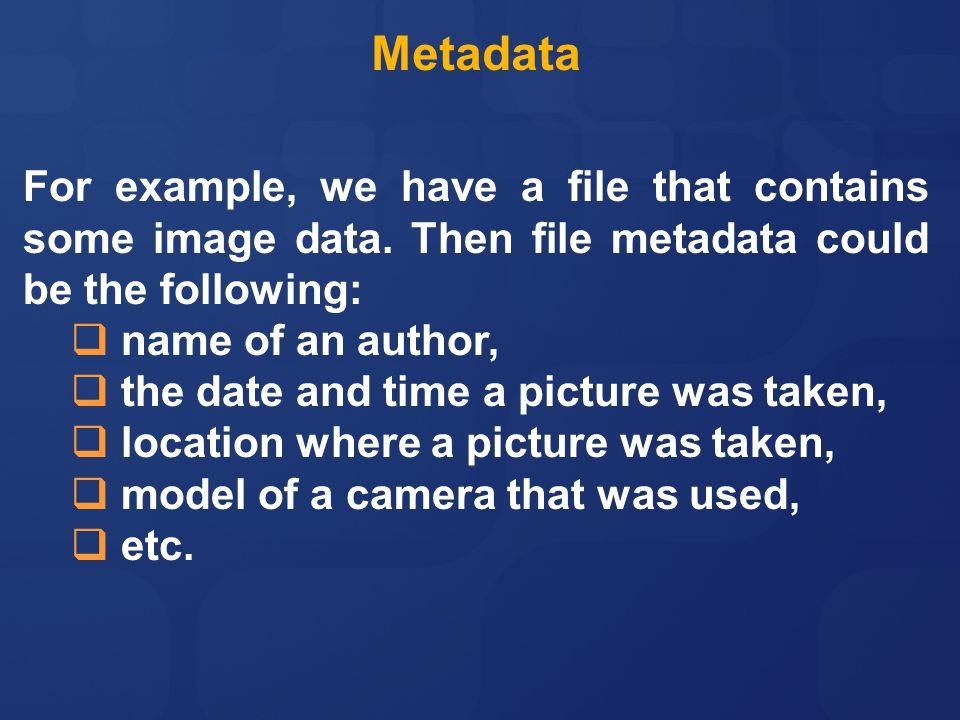 For example, we have a file that contains some image data.