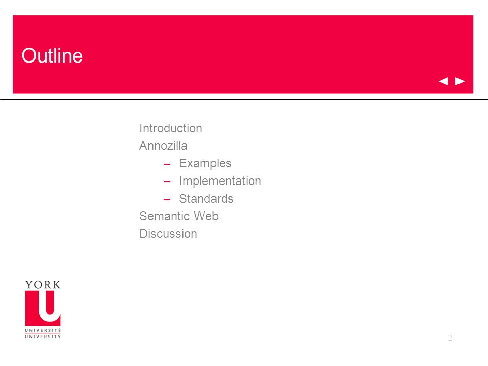 2 Outline Introduction Annozilla –Examples –Implementation –Standards Semantic Web Discussion