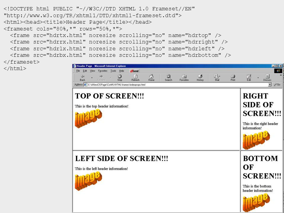 <!DOCTYPE html PUBLIC -//W3C//DTD XHTML 1.0 Frameset//EN http://www.w3.org/TR/xhtml1/DTD/xhtml1-frameset.dtd > Header Page