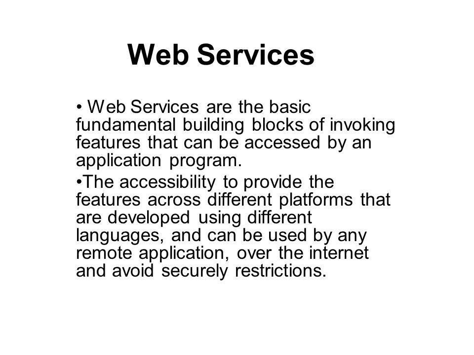 Simple Object Access Protocol: structure SOAP <soap:Envelope xmlns:soap= http://www.w3.org/2001/12/soap-envelope soap:encodingStyle= http://www.w3.org/2001/12/soap- encoding >......
