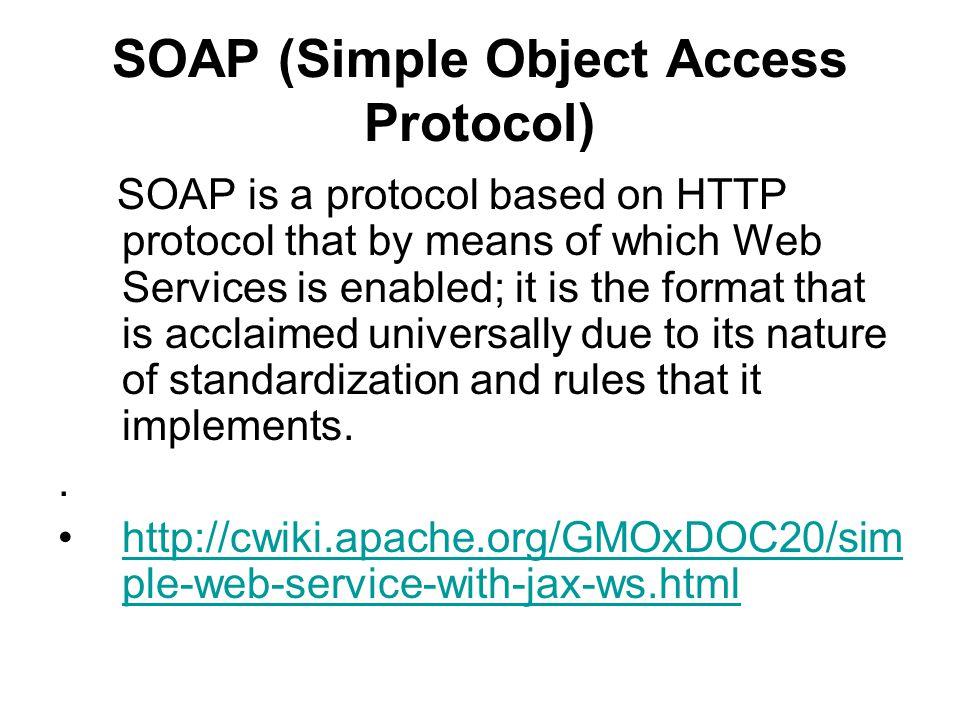 SOAP structure (response) <soap:Envelope xmlns:soap= http://www.w3.org/2003/05/soapenvelope xmlns:axis= http://ws.apache.org/axis2 > 57